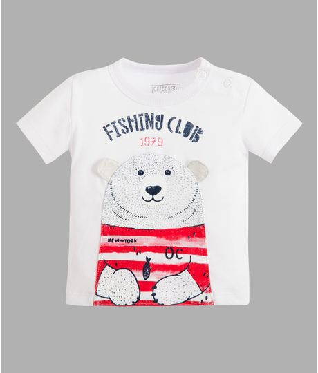Camiseta-titere-Ropa-recien-nacido-nino-Blanco