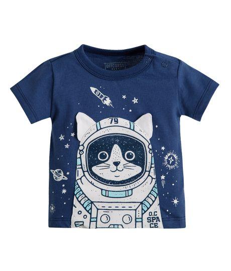 Camiseta-titere-Ropa-recien-nacido-nino-Azul