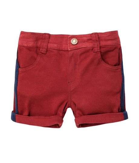 Bermuda-Ropa-recien-nacido-nino-Rojo