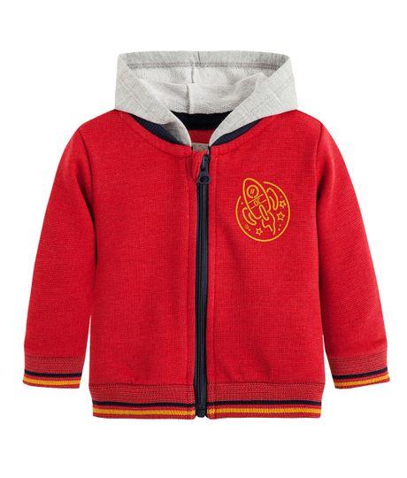 Bomber-jacket-Ropa-recien-nacido-nino-Rojo
