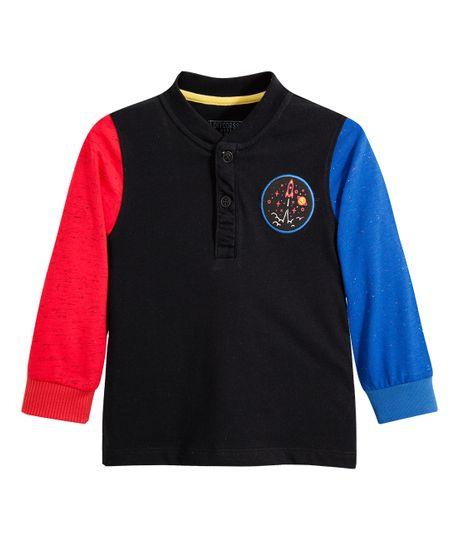 Camiseta-manga-larga-Ropa-bebe-nino-Gris