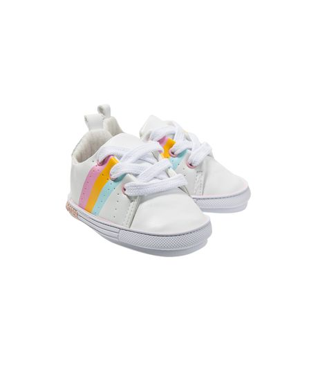 Zapatos-precaminadores-Ropa-recien-nacido-nina-Blanco