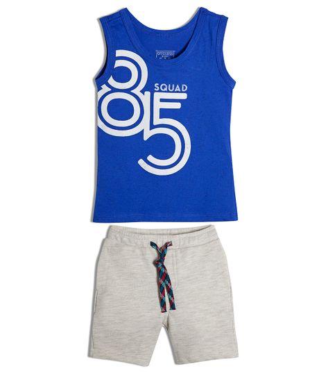 Conjunto-corto-Ropa-bebe-nino-Azul