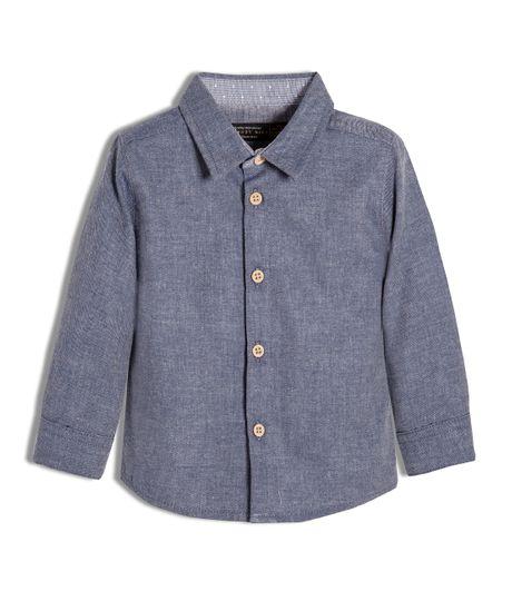 Camisa-Ropa-recien-nacido-nino-Azul
