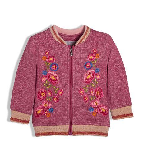 Buzo-o-chaqueta-Ropa-recien-nacido-nina-Rojo
