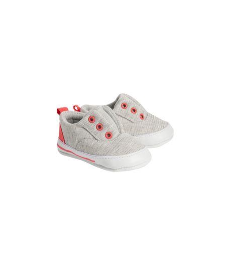 Zapatos-cosidos-Ropa-recien-nacido-nina-Gris