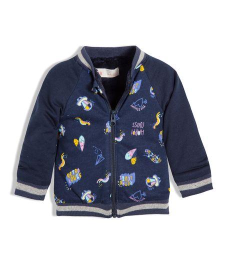 Bomber-jacket-Ropa-recien-nacido-nina-Azul