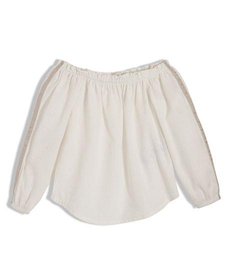 Camisa-cuello-bandeja-Ropa-nina-Blanco
