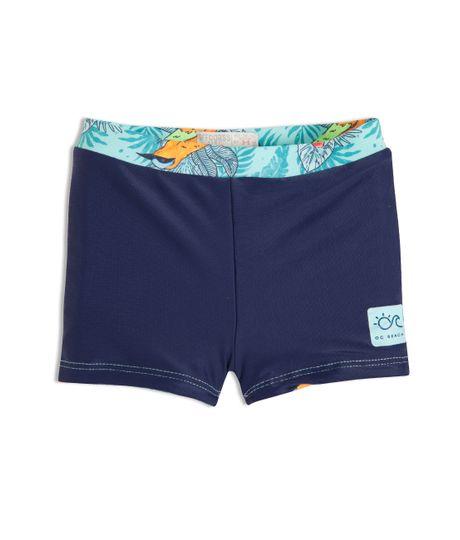 Pantaloneta-doble-faz-Ropa-recien-nacido-nino-Verde