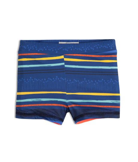 Pantaloneta-doble-faz-Ropa-recien-nacido-nino-Azul