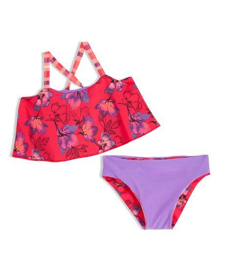 Bikini-Ropa-bebe-nina-Rojo