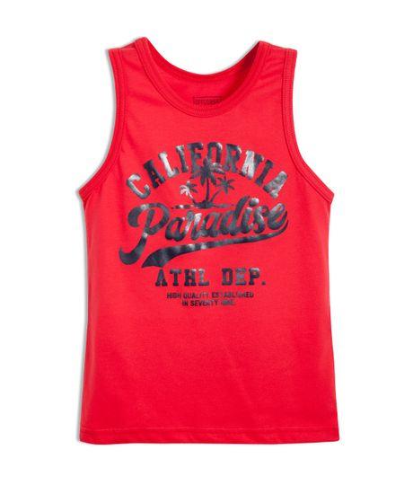 Camiseta-de-playa-Ropa-nino-Rojo