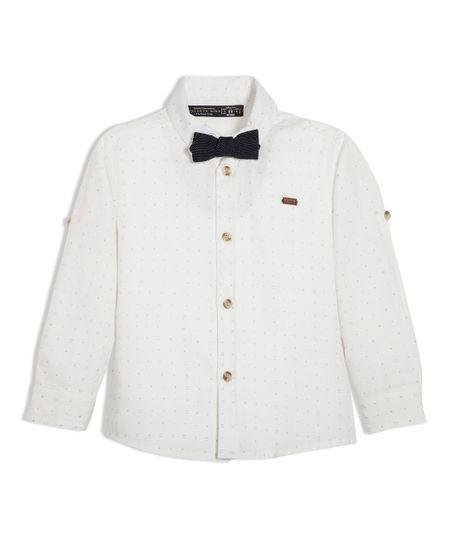 Camisa-manga-larga-Ropa-bebe-nino-Amarillo