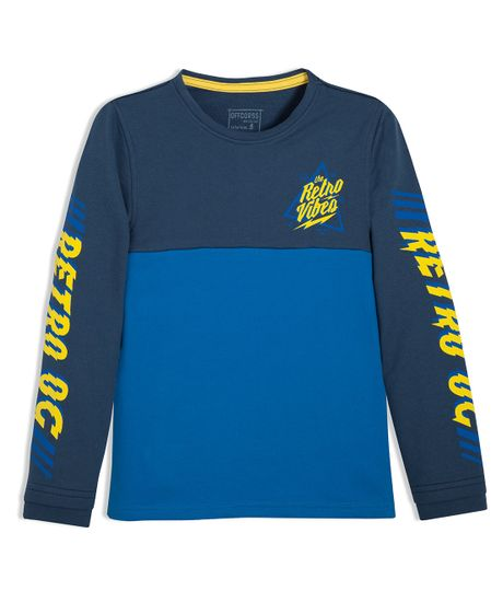 Camiseta-manga-larga-Ropa-nino-Azul