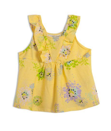 Camiseta-manga-sisa-Ropa-bebe-nina-Amarillo