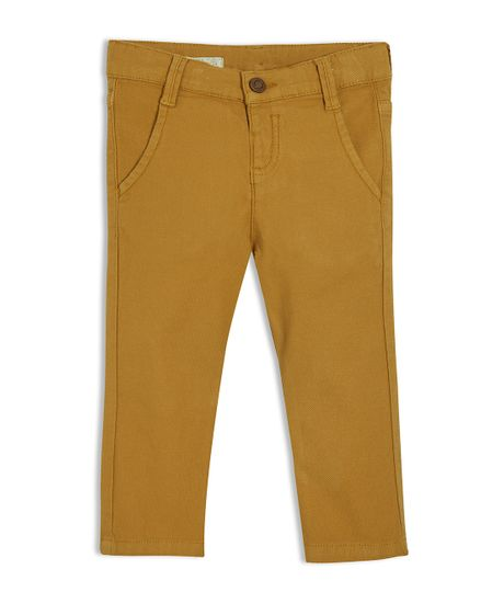 Pantalon-Ropa-bebe-nino-Amarillo