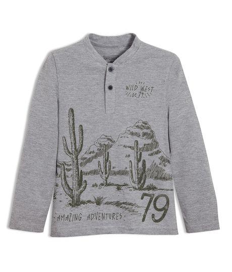 Camiseta-manga-larga-Ropa-nino-Gris