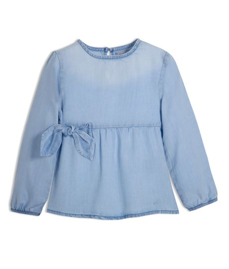 Camisa-manga-tres-cuartos-Ropa-bebe-nina-Indigo-medio