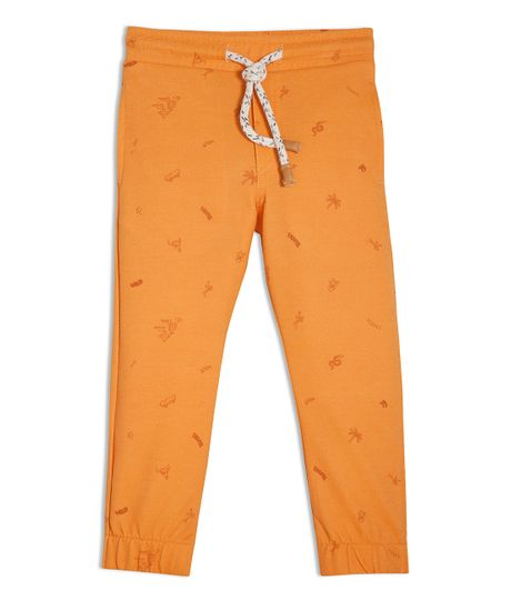 Sudadera-Ropa-bebe-nino-Naranja