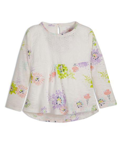 Camiseta-manga-larga-Ropa-bebe-nina-Amarillo