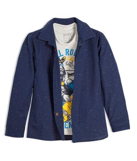 Camisa-manga-larga-Ropa-nino-Indigo-oscuro