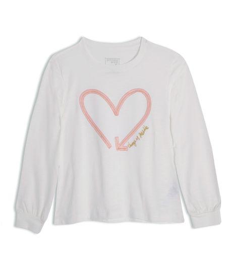 Camiseta-manga-larga-Ropa-nina-Blanco