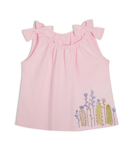 Camiseta-manga-sisa-Ropa-bebe-nina-Rosado