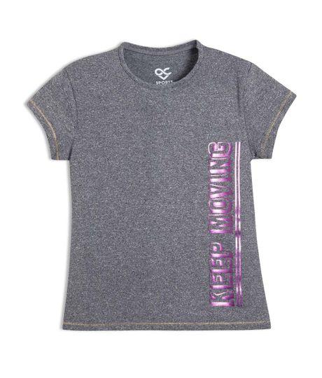Camiseta-deportiva-Ropa-nina-Gris