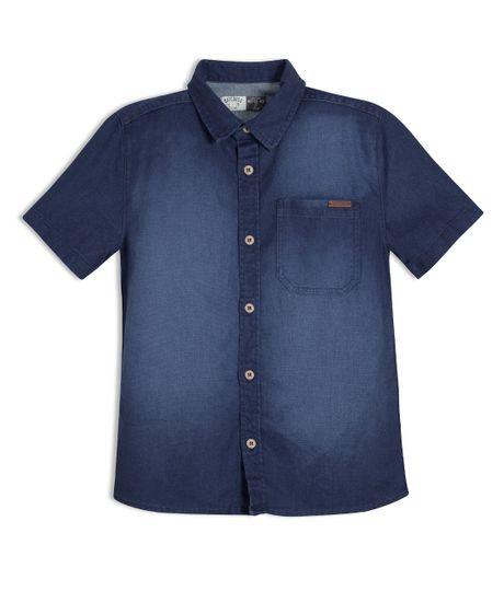 Camisa-manga-corta-Ropa-nino-Indigo-oscuro