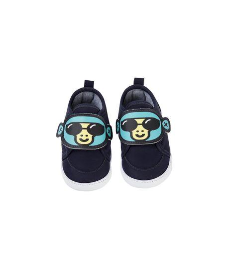 Zapatos-con-velcro-Ropa-recien-nacido-nino-Azul