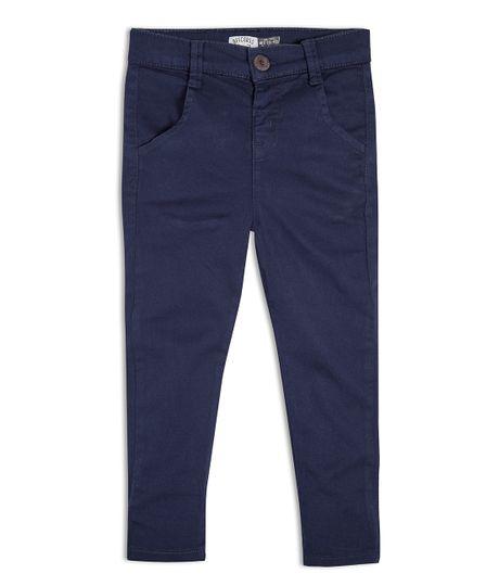 Pantalon-Ropa-bebe-nino-Azul