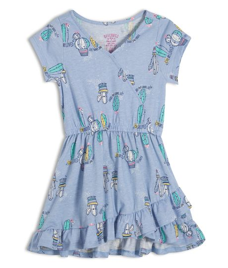 Vestido-manga-corta-Ropa-bebe-nina-Morado
