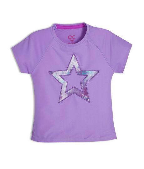 Camiseta-deportiva-Ropa-bebe-nina-Morado