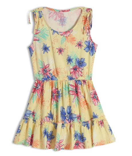 Vestido-manga-sisa-Ropa-nina-Amarillo