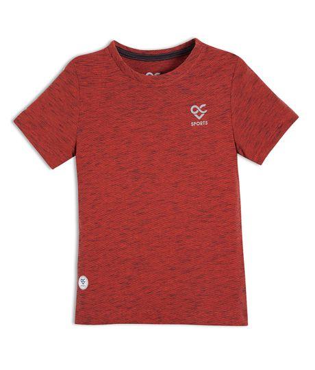 Camiseta-deportiva-Ropa-bebe-nino-Rojo