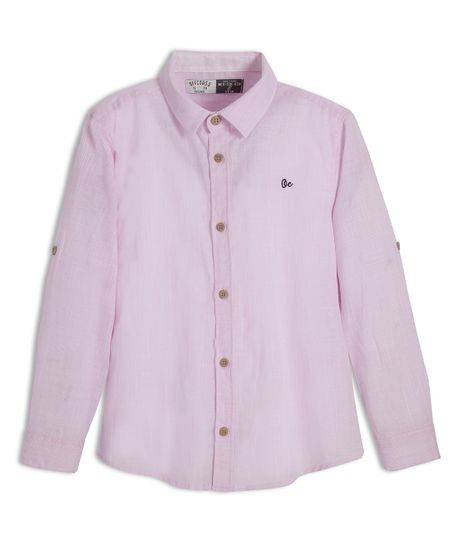 Camisa-manga-larga-Ropa-nino-Rosado