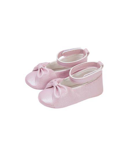 Baletas-cosidas-Ropa-recien-nacido-nina-Rosado
