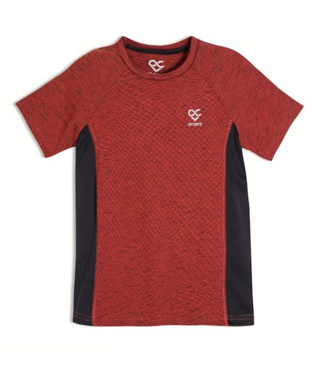 Camiseta-deportiva-Ropa-nino-Rojo