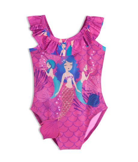 Vestido-de-baño-entero-Ropa-bebe-nina-Morado