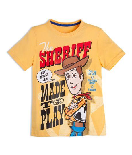 Camiseta-manga-corta-Ropa-nino-Amarillo