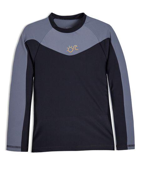 Camiseta-de-playa-Ropa-nino-Gris
