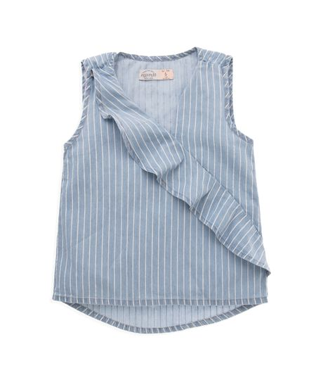 Camisa-manga-sisa-Ropa-nina-Indigo-claro