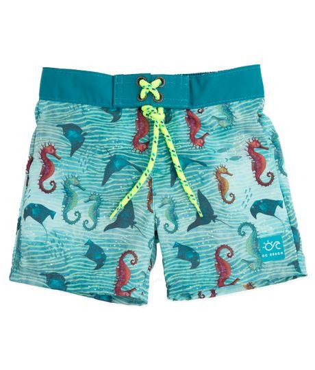 Pantaloneta-de-baño-Ropa-recien-nacido-nino-Azul