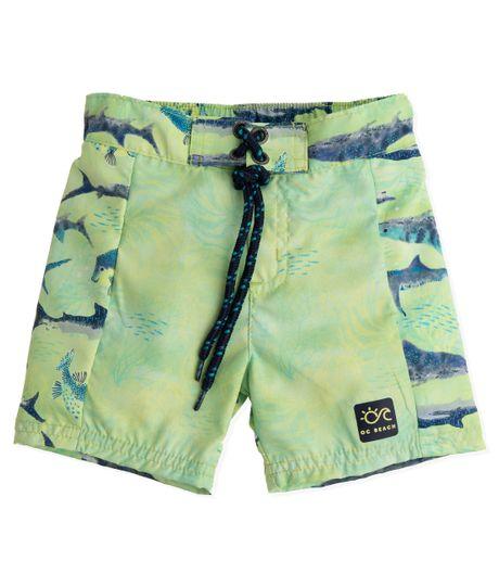 Pantaloneta-de-baño-Ropa-recien-nacido-nino-Verde