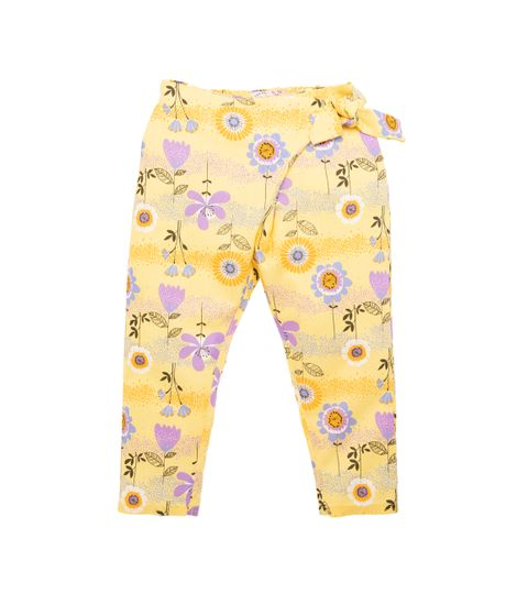 Pantalon-Ropa-bebe-nina-Amarillo