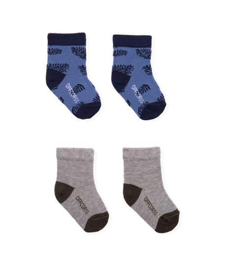 Set-x-2-medias-Ropa-recien-nacido-nino-Azul