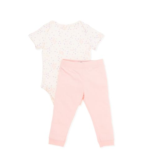 Pijama-Ropa-recien-nacido-nina-Gris