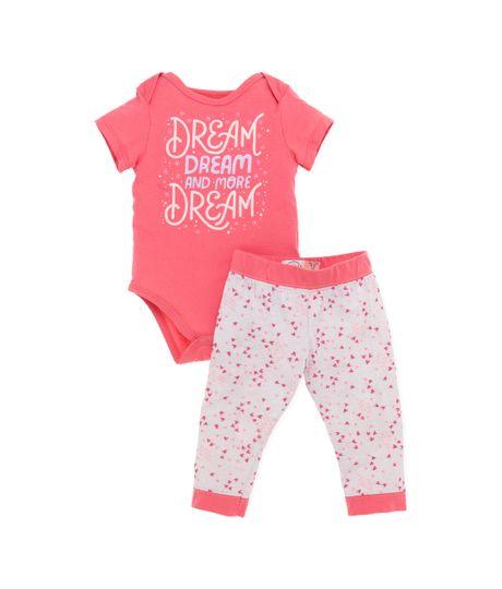 Pijama-Ropa-recien-nacido-nina-Rosado
