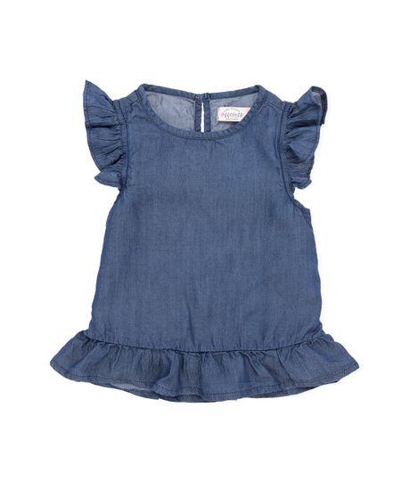 Camisa-manga-sisa-Ropa-bebe-nina-Indigo-medio