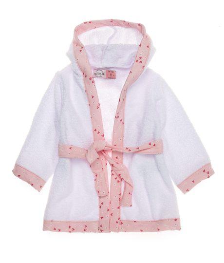 Toalla-kimono-Ropa-recien-nacido-nina-Rosado